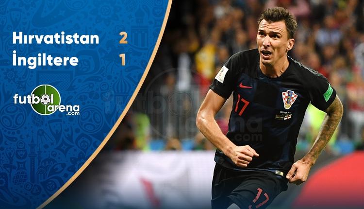 Hırvatistan Finalde! Hırvatistan 2-1 İngiltere maç özeti ve golleri (İZLE)