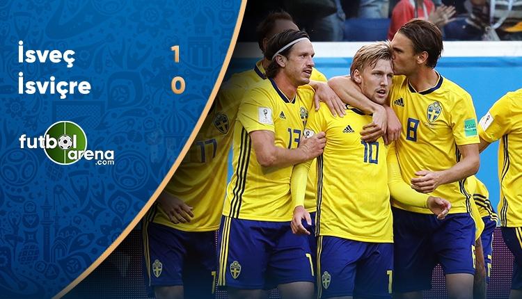 İsveç 1-0 İsviçre maç özeti ve golleri (İZLE)