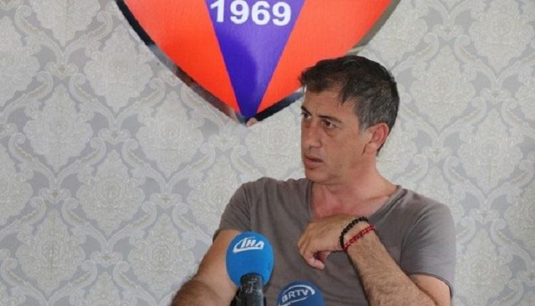 Karabükspor İdari Menajeri Fazlı Ulusal: 'Kulübü soyanların peşindeyiz'