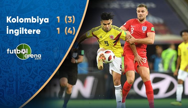 Kolombiya 3-4 İngiltere maç özeti ve golleri (İZLE)