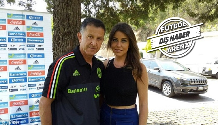 Meksika'nın hocası Osorio eşi ve sevgilisini Dünya Kupası'na getirdi