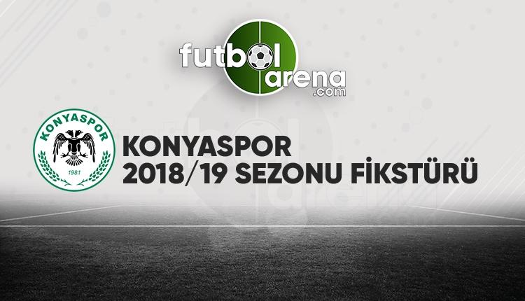 Konyaspor'un fikstürü açıklandı! (Konyaspor 2018/2019 maçları - Konyaspor fikstür)