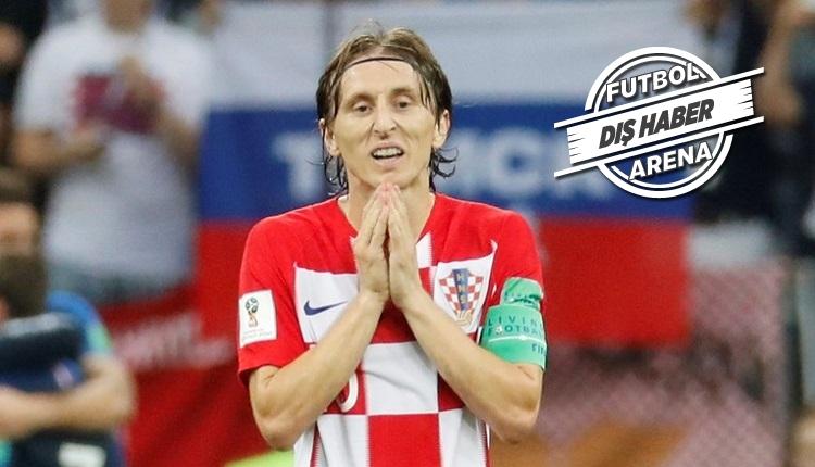 Luka Modric gözyaşlarını tutamayıp soyunma odasına koştu