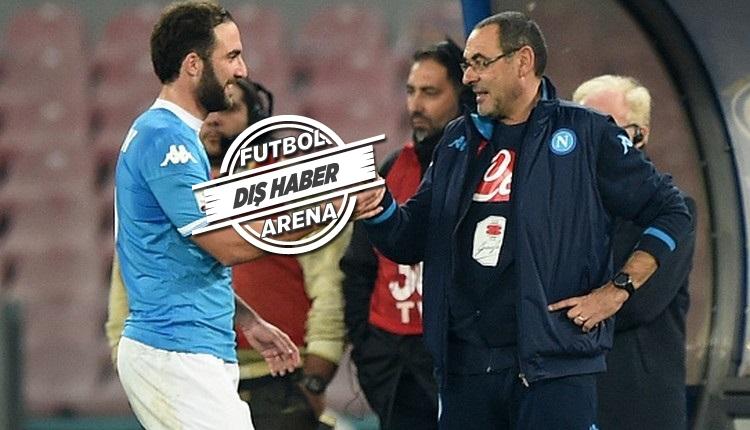 Maurizio Sarri eski golcüsü Gonzalo Higuain'i istiyor!
