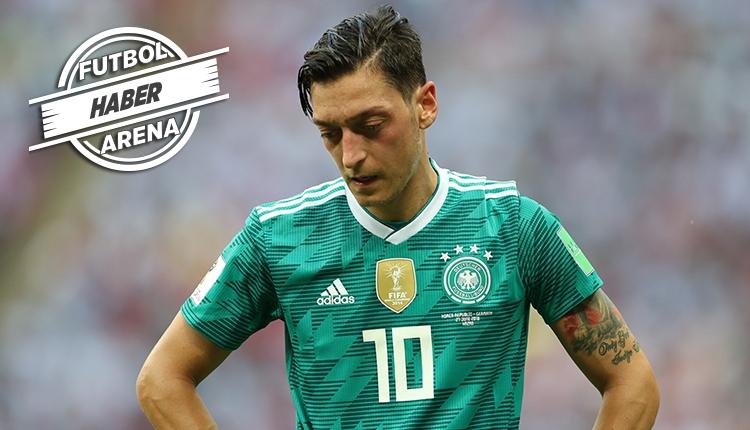 Mesut Özil Almanya milli takımını bıraktı! 'Artık istemiyorum'