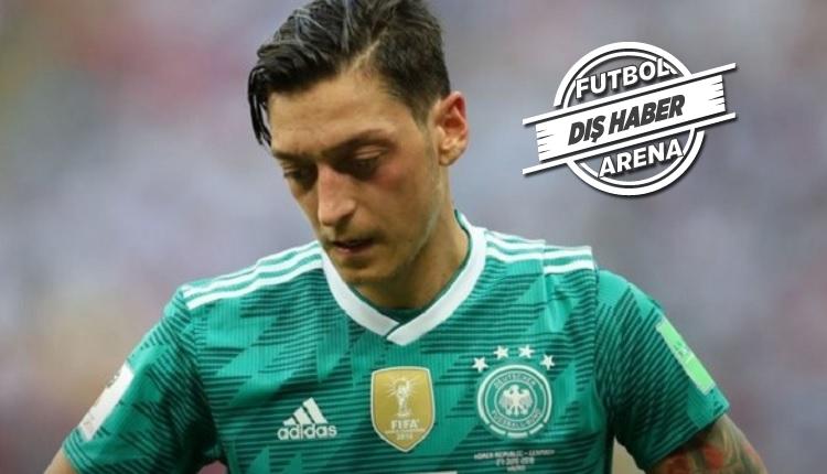Mesut Özil Almanya Milli takımını bıraktı iddiası
