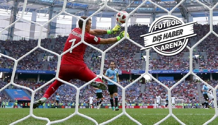 Muslera'nın Uruguay - Fransa maçında yediği gol (İZLE)