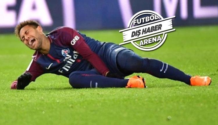 Neymar: 'Canım çok acıdı