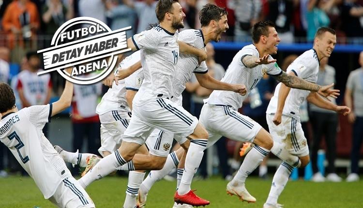 Rusya Dünya Kupası'nda bu sezonun rekorunu kırdı