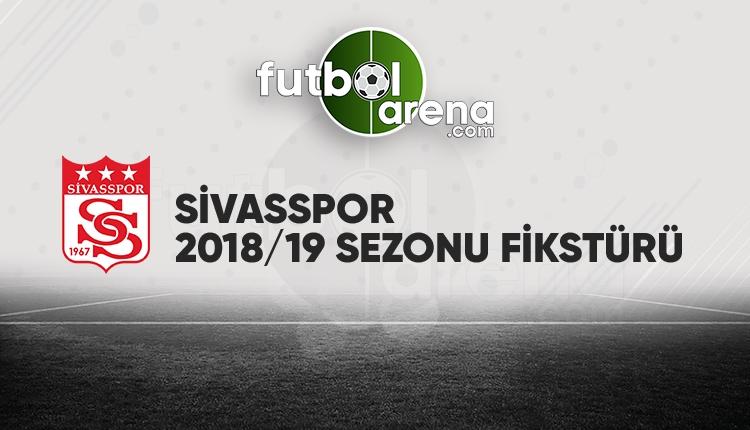 Sivasspor fikstürü açıklandı! (Sivasspor 2018/2019 maçları - Sivasspor fikstür)