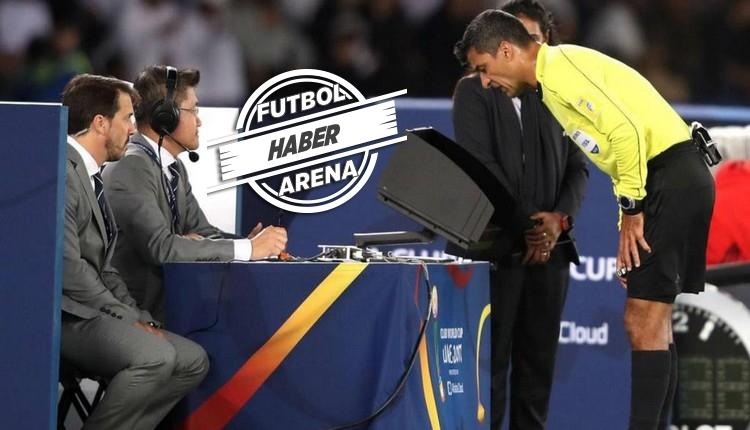 Süper Lig'de VAR işaretinin cezası sarı kart