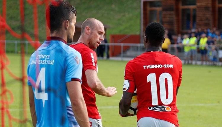 Trabzonspor 1-4 Spartak Moskova maç özeti ve golleri (İZLE)