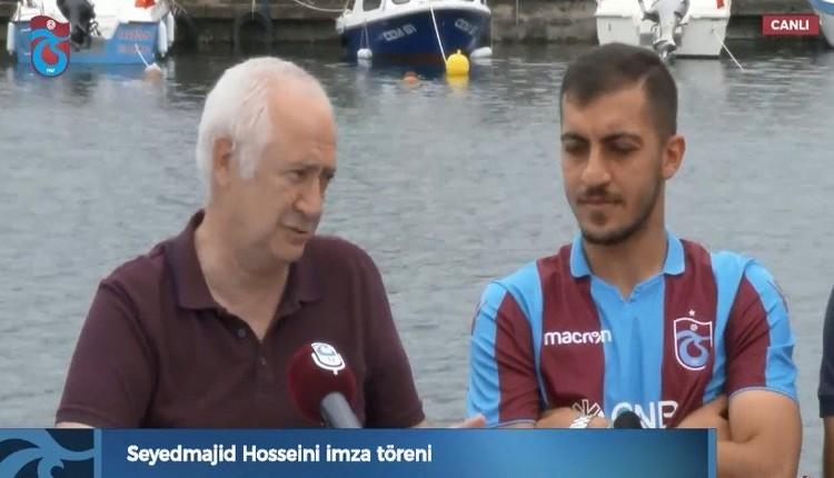 Trabzonspor Transfer: Trabzonspor'dan Hosseini için KAP açıklaması