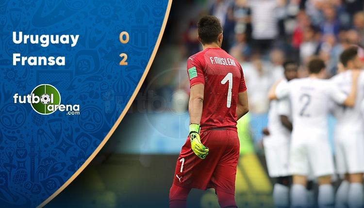 Uruguay 0-2 Fransa maç özeti ve golleri (İZLE)