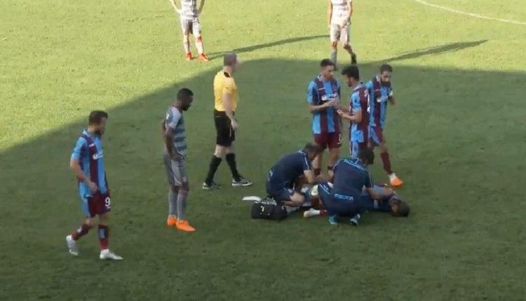 Yusuf Yazıcı korkuttu! Trabzonspor - Al Duhali hazırlık maçında