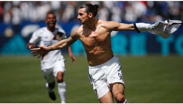 Zlatan Ibrahimovic hat-trick yaptı - Ibrahimovic'in LA Galaxy'de attığı goller (İZLE)