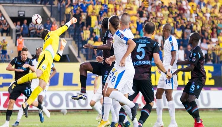 Ankaragücü 2 - 2 Trabzonspor maçın özeti ve golleri