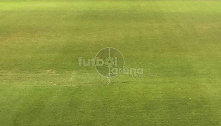 Ankaragücü - Galatasaray maç öncesi zeminin şok görüntüsü