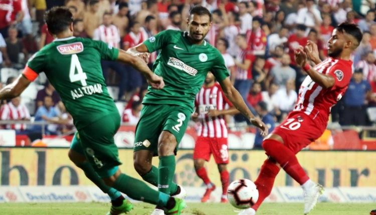Antalyaspor 3-3 Konyaspor maç özeti ve golleri (İZLE)