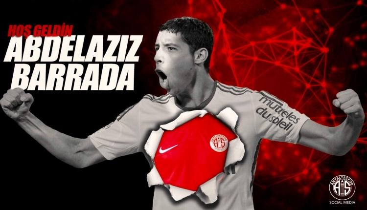 Transfer Haberleri: Antalyaspor,Abdelaziz Barrada'yı transfer etti