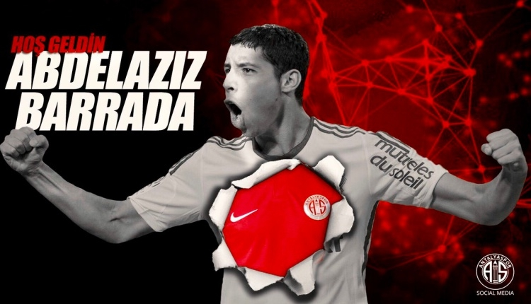 Antalyaspor,Abdelaziz Barrada'yı transfer etti