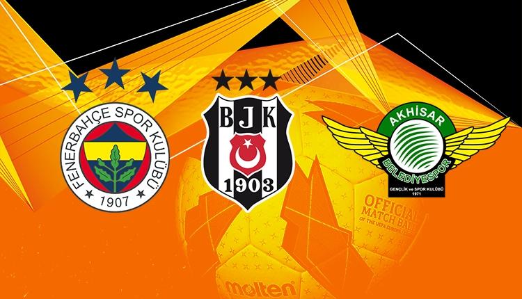 Fenerbahçe, Beşiktaş ve Akhisarspor'un Avrupa Ligi'ndeki rakipleri
