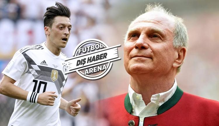 Bayern Başkanı Uli Hoeness: 'Mesut Özil'in Erdoğan ile fotoğrafı hataydı'