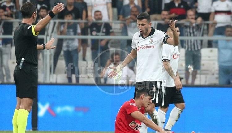 Beşiktaş - Antalyaspor maçında kural hatası iddiası
