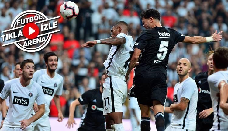 Beşiktaş - Partizan maçı özeti ve golleri (İZLE)