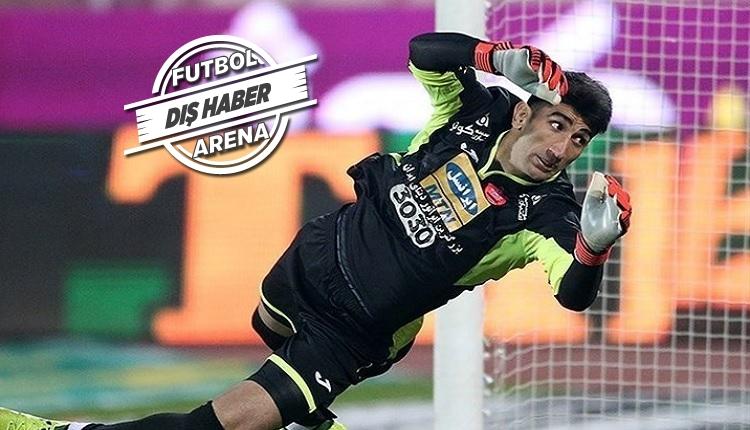 Beşiktaş'a sürpriz kaleci transferi Alireza Beiranvand!