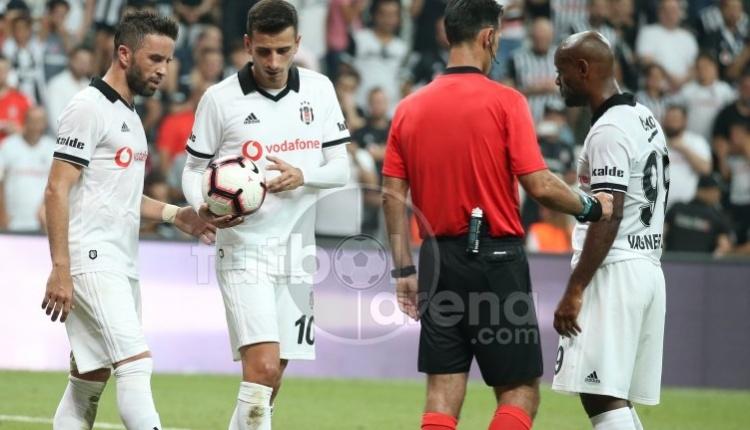 Beşiktaş'ta B36 Torshavn maçında ilginç penaltı hikayesi