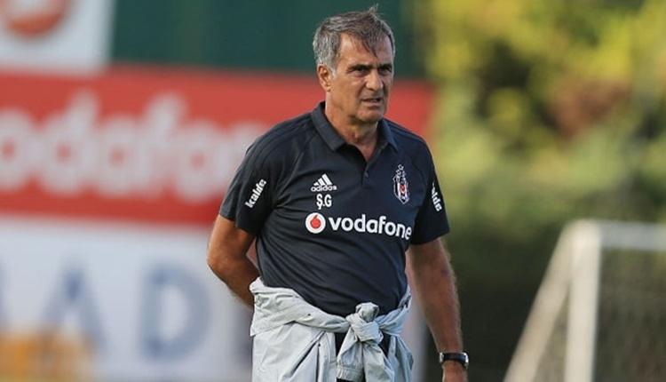Beşiktaş'ta Şenol Güneş, BB Erzurumspor maçı öncesi neşteri vuruyor