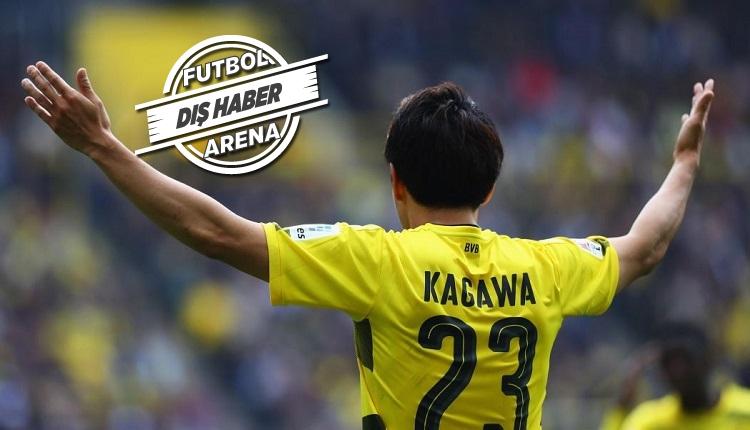 Borussia Dortmund'da Kagawa kadro dışı