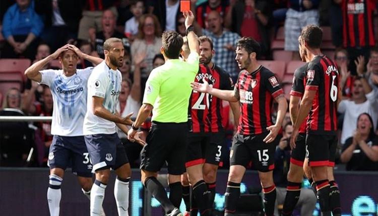 Bournemouth 2 - 2 Everton maçın özeti ve goller (İZLE)