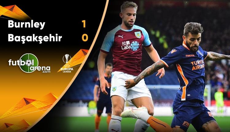 Burnley 1-0 Medipol Başakşehir maç özeti ve golü (İZLE)