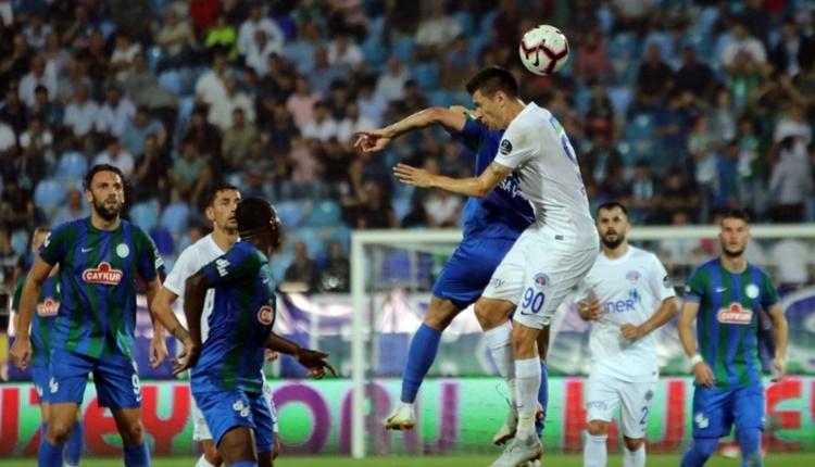 Çaykur Rizespor 2 - 3 Kasımpaşa maçın özeti ve golleri (İZLE)