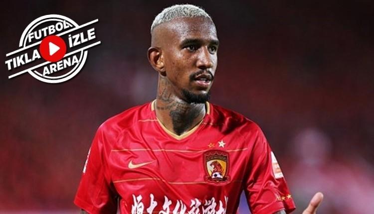 Çin'de Talisca şov! İki gol daha attı (İZLE)