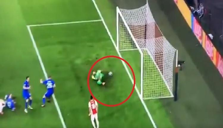 Denys Boyko'nun Ajax maçında yediği hatalı gol