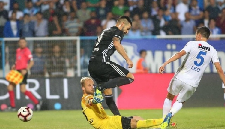Erzurumspor 1-3 Beşiktaş maç özeti ve golleri (İZLE)