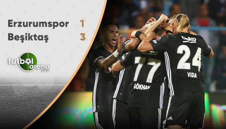 Beşiktaş Erzurum'da kabustan uyandı