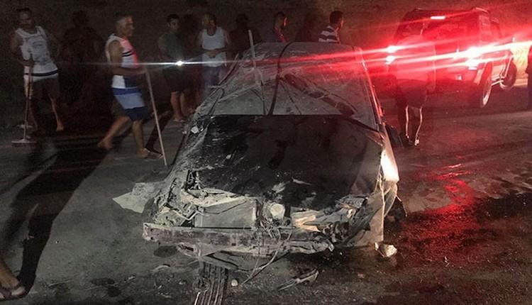 Esentepeli futbolcu Şahin Şeker'in eşi kazada hayatını kaybetti