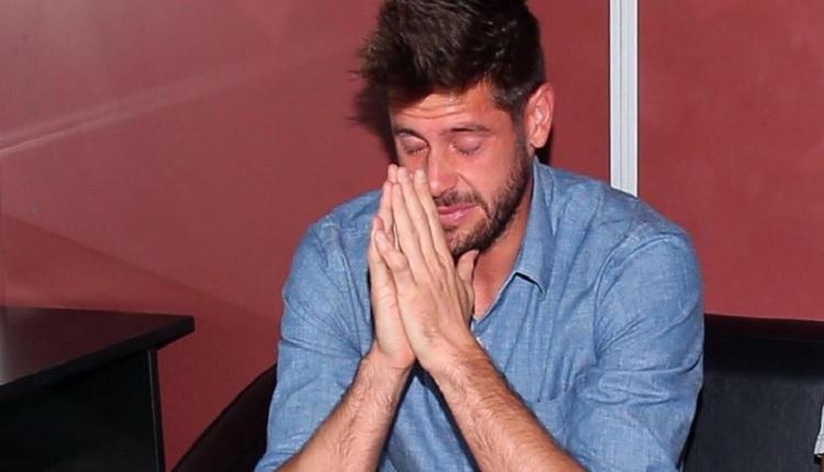 Fabri Beşiktaş'a gözyaşlarıyla veda etti