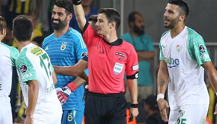 Fenerbahçe - Bursaspor maçında iptal edilen penaltı