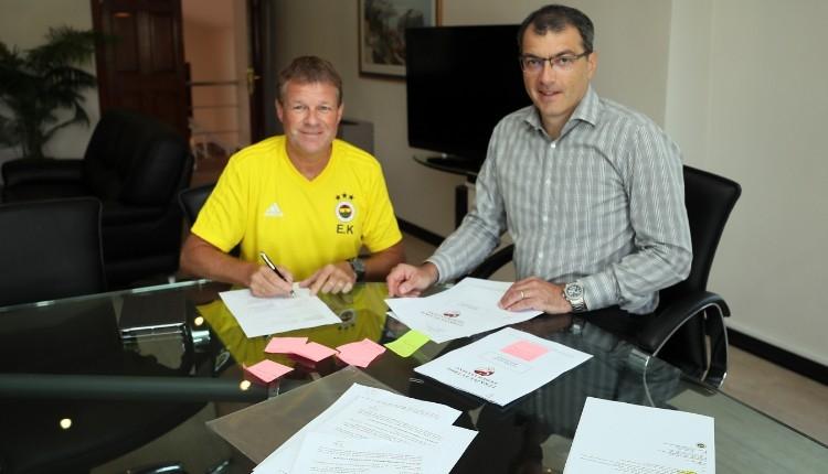 Fenerbahçe, Erwin Koeman ile sözleşme imzaladı