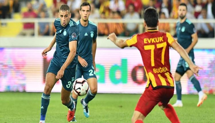 Fenerbahçe galibiyet serisini Malatya'da bıraktı