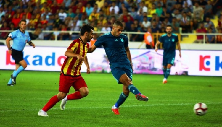 Fenerbahçe'de Islam Slimani'nin Yeni Malatyaspor maçı performansı