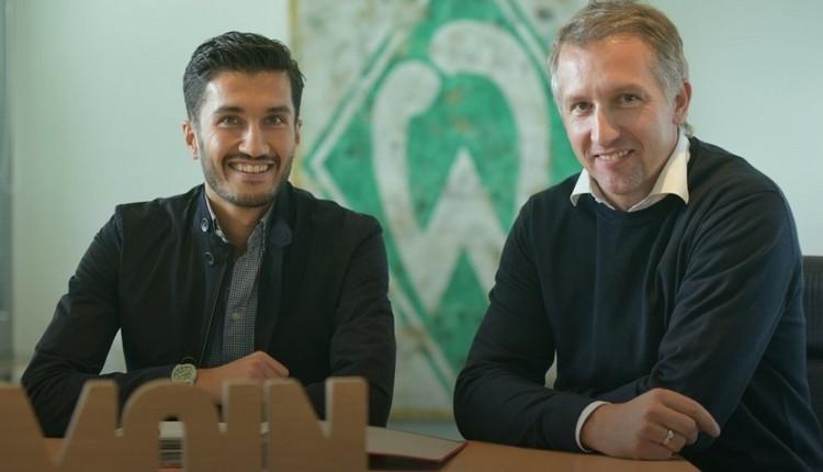 Fenerbahçe'ye yazılan Nuri Şahin, Werder Bremen'de