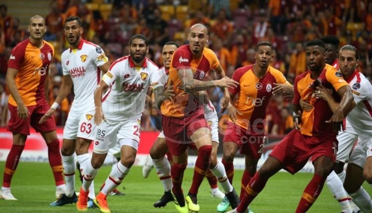 Galatasaray, evinde ilk golü attığında kazanıyor