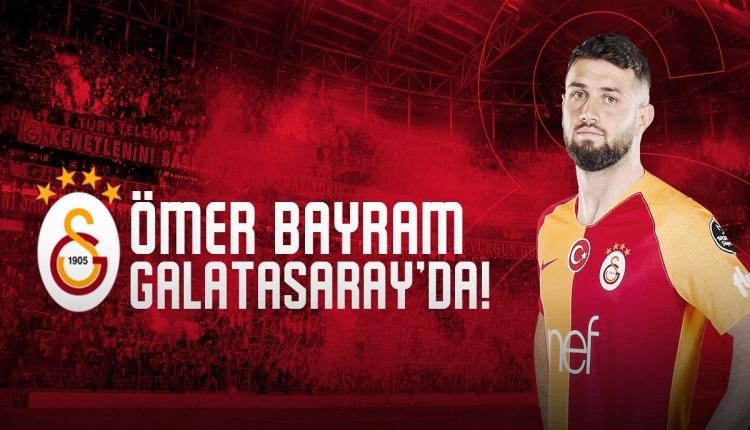GS Transfer: Galatasaray, Ömer Bayram transferini açıkladı