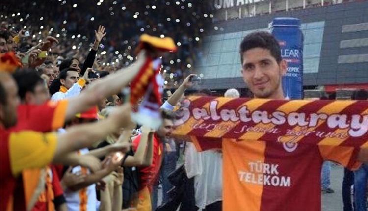 Galatasaray taraftarından Ankaragücü maçında Emre Akbaba tezahüratı